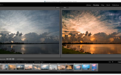 Landscape Post-processing Basics